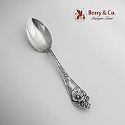 Cherub Teaspoon Sterling Silver Watson 1895