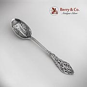 Lexington Mass Trianon Pierced Souvenir Spoon Sterling Silver Dominick Haff 1887