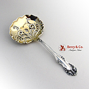 Candy Nut Spoon George VI Richfield Frank Smith Sterling Silver 1912 No Monogram