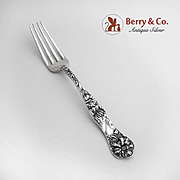 Yetive Fork Sterling Silver Mount Vernon 1896