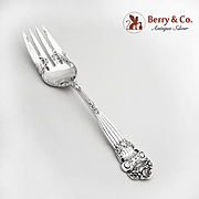 Georgian Cold Meat Fork Sterling Silver Towle Silversmiths 1898