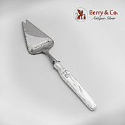Norwegian Cheese Plane and Knife 830 Standard Silver Handle 1950
