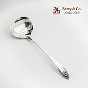 Prelude Cream Ladle Sterling Silver International 1939