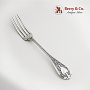 Florentine Youth Fork Sterling Silver Wendt