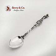 Figural Demitasse Spoon Souvenir Spoon Pompei Cupid Finial 800 Silver