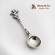 Cupid Salt Spoon 800 Silver Germany 1900