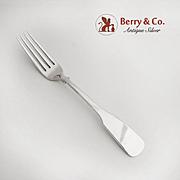 Eighteen Ten 1810 Dinner Fork Sterling Silver International 1930