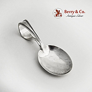 Curver Handle Baby Spoon Marlborough Watson 1918 Sterling Silver No Monogram