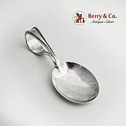 Curver Handle Baby Spoon Marlborough Watson 1918 Sterling Silver No Monogram