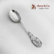 Kolonihave Forbundet For Danmark Dessert Spoon  830 Standard Silver 1935