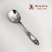 Fleur de Lis Sugar Spoon Sterling Silver Alvin 1907