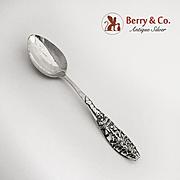 Merry Christmas Souvenir Spoon Sterling Silver Christmas Tree Handle Watson 1900