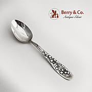 Berry Teaspoon Sterling Silver Whiting 1880