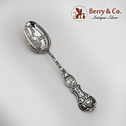Liberty Bell Souvenir Spoon Sterling Silver Alvin 1900 Independence Hall Philadelphia