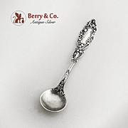Luxembourg Salt Spoon Sterling Silver Gorham Silversmiths 1893