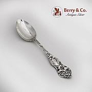 Lily Teaspoon Sterling Silver Watson 1902