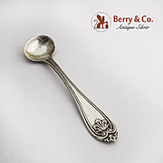Josephine Coin Silver Master Salt Spoon 1860