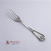 Ivy Youth Fork Sterling Silver Whiting 1880