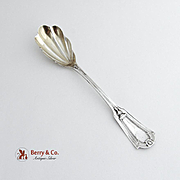 Keystone Sugar Shell Spoon Sterling Silver Whiting