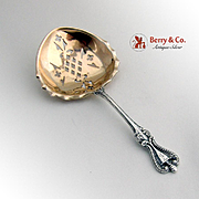 Old Colonial Bon Bon Candy or Nut Spoon Sterling Silver Towle 1895