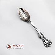 Old Colonial Sacramento Souvenir Teaspoon Sterling Silver Towle 1895