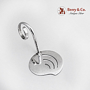 Arts and Crafts Small Server Sterling Silver