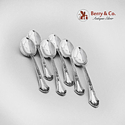 Demitasse Spoons Set of 6 Lenox Sterling Silver Durgin 1912