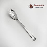 Pantheon Olive Spoon Sterling Silver International 1920