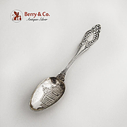 Sappho Souvenir Spoon Capitol Montgomery Ala Wallace Sterling Silver 1895