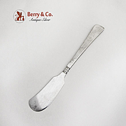 Capri Butter Spreader Sterling Silver Arts and Crafts Porter Blanchard