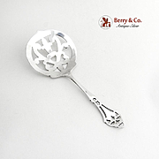 Bon Bon Candy or Nut Spoon Sterling Silver Webster