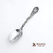 Vintage Massachusetts Souvenir Spoon Cottage City Wendell 1900