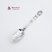 Arthur Everts Jewelers Dallas Souvenir Spoon Sterling Silver