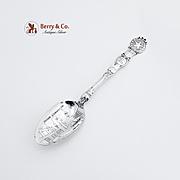 Arthur Everts Jewelers Dallas Souvenir Spoon Silverplate
