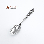 State Capitol Denver Souvenir Spoon Sterling Silver