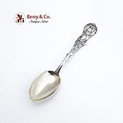 New Orleans Souvenir Spoon Sterling Silver Watson 1900