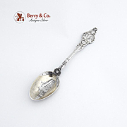 Mount Vernon Souvenir Spoon Sterling Silver 1891