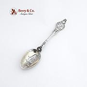 Mount Vernon Souvenir Spoon Sterling Silver 1891