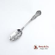 Michigan Hall Chicago Souvenir Spoon Sterling Silver Gorham