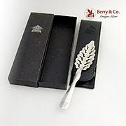Absinthe Spoon Sterling Silver Veritable Fee Verte Absinthe Kubler