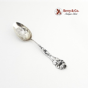 Vintage Souvenir Spoon City Hall Baltimore Sterling Silver Baker Manchester 1900