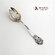Georgian Souvenir Spoon Municipal Building Stamford Conn Bowl Towle Sterling Silver