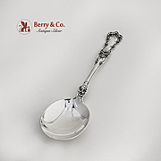 Buttercup Cream Soup Spoon Sterling Silver Gorham Silversmiths