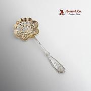 Bedford Bon Bon Candy Nut Spoon Sterling Silver Gorham Silversmiths 1895