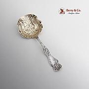 Ornate Bon Bon Candy or Nut Spoon Sterling Silver 1900