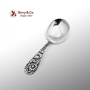 Repousse Baby Spoon Sterling Silver S. Kirk And Son