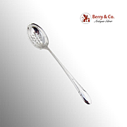 Towle Symphony Pierced Olive Spoon Patent 1931 Sterling Silver