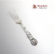 Chicago Indian Souvenir Fork Sterling Silver