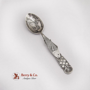 Paye And Baker Carmel Mission 1770 Souvenir Spoon Sterling Silver