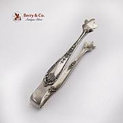 Alvin Della Robbia Sugar Tongs Sterling Silver